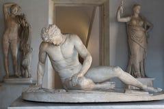 Sterbendes Gallien stockbilder