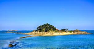 Sterec海岛-布里坦尼,法国 库存图片