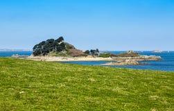 Sterec ö - Brittany, Frankrike Arkivbild