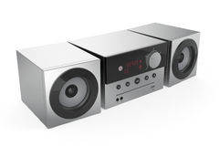 Stereo Audio System Royalty Free Stock Photo