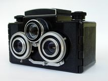 Stereo camera Stock Image