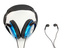 Stereo ear-phones. Royalty Free Stock Photos