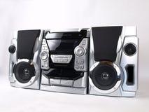 stereo för silver för vinkelbangask Arkivfoton