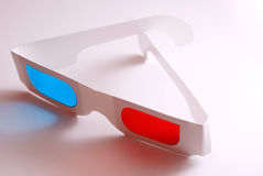 Stereo glasses Royalty Free Stock Photos