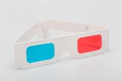 Stereo glasses Royalty Free Stock Images