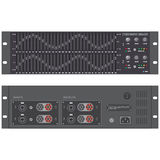Stereo graphic professional equalizer device Stock Images