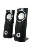 stereo- högtalare royaltyfri fotografi