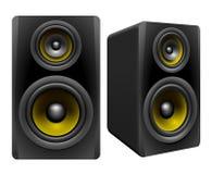 Stereo- högtalare Royaltyfri Foto