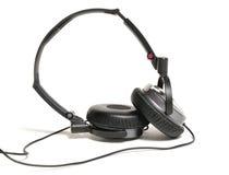 stereo- hörlurar arkivbild