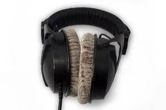 Stereo hełmofonu zbliżenie Obraz Royalty Free