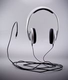 Stereo headphones Stock Images