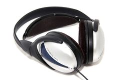 Stereo headphones Royalty Free Stock Images