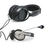 Stereo headphones Stock Image