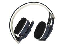 Stereo headphones. Stereo over ear headphones isolated stock photos