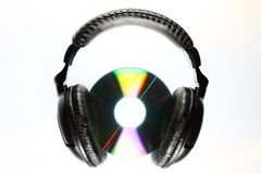 Stereo headset royalty free stock photography