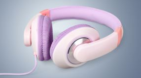 Stereo headset Stock Photography