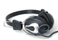 Stereo hoofdtelefoons stock foto
