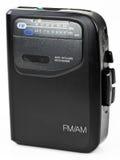 Stereo Portable Radio Cassette Audio Music Player. AM FM Stereo Portable Radio Cassette Audio Music Player stock photos