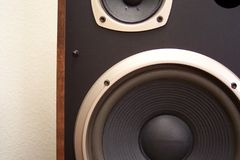 Stereo speaker royalty free stock photo