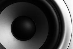 Stereo speaker. Closeup of a stereo speaker Stock Images