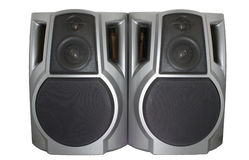 Stereo speaker Royalty Free Stock Images
