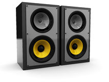 Stereo speakers Royalty Free Stock Image