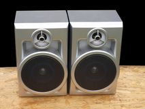 Stereo speakers Royalty Free Stock Photos