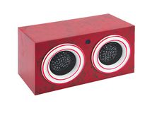 Stereo speakers Stock Image