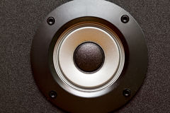 Stereo speakers membrane Stock Image