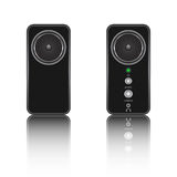 The stereo speakers Royalty Free Stock Photo