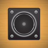 The stereo speakers Royalty Free Stock Photography