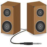 Stereo speakers Royalty Free Stock Images