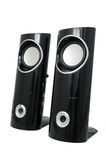 Stereo sprekers royalty-vrije stock fotografie