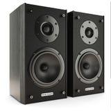 Stereo- system för solida högtalare Arkivbilder
