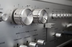Stereo system Stock Image