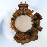 Stereographic Amer Fort Royaltyfri Bild