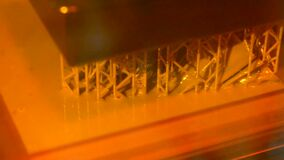 Stereolithography DPL 3d printer create detail