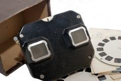 Stereoscoop, Retro Stuk speelgoed Royalty-vrije Stock Fotografie