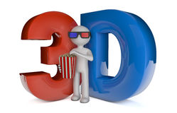 Stereoscopic 3d Stock Photo