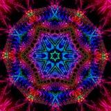 Stereoskopisk fractalmodell Royaltyfri Foto