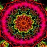 Stereoskopisk fractalmodell Royaltyfri Bild