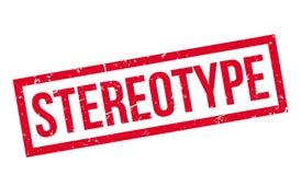 Stereotyp pieczątka Fotografia Royalty Free