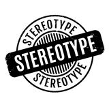 Stereotype rubber stamp. Grunge design with dust scratches. Effects can be easily removed for a clean, crisp look. Color is easily changed royalty free illustration