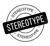 Stereotype rubber stamp. Grunge design with dust scratches. Effects can be easily removed for a clean, crisp look. Color is easily changed vector illustration