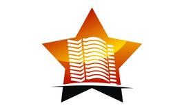 Sterhotel Logo Design Template Royalty-vrije Stock Foto