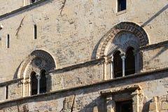 Steri di Palazzo, medio evo, architettura Fotografia Stock