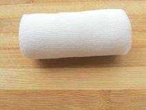 Sterile bandage roll Royalty Free Stock Image