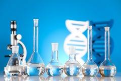 Sterile Conditions, Laboratory Glassware Stock Photo
