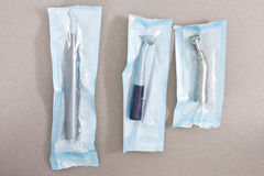 Sterile Dental Instruments Royalty Free Stock Photography