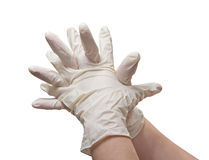 Sterile gloves Royalty Free Stock Image